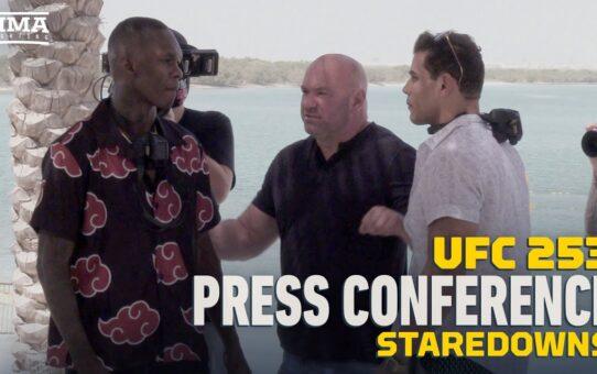 UFC 253: Press Conference Staredowns Featuring Israel Adesanya vs. Paulo Costa – MMA Fighting