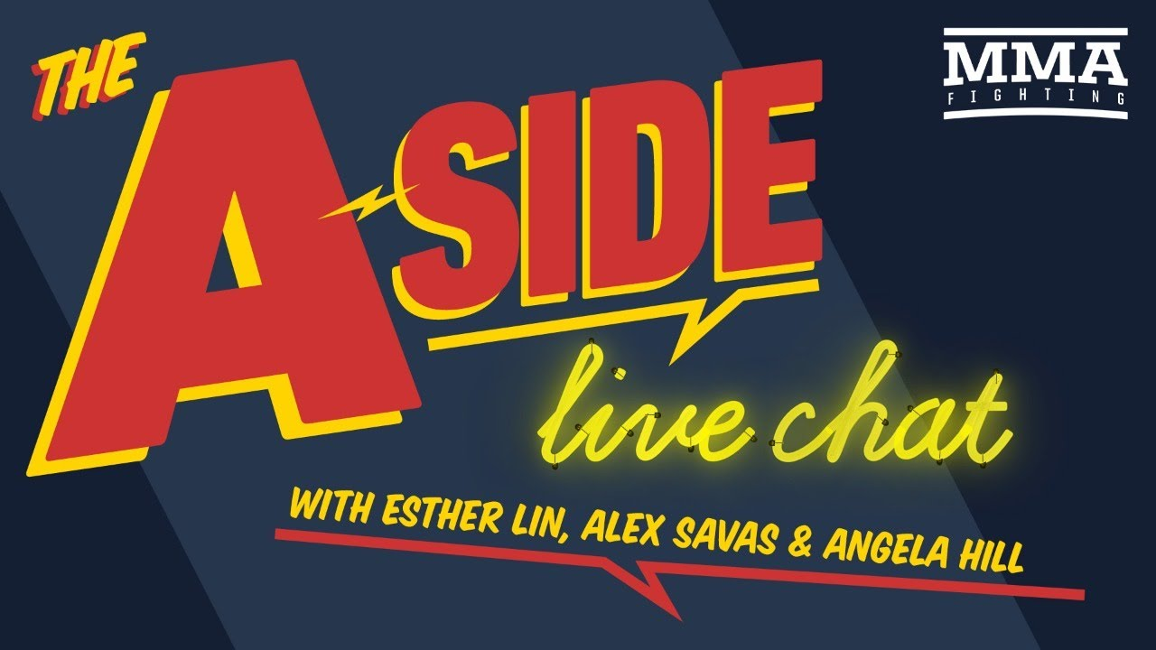 The A-Side Live Chat w/ Angela Hill | Sept. 16, 2020 | MMA Fighting