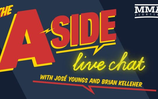 The A-Side Live Chat /w Brian Kelleher | Sept. 9, 2020 | MMA Fighting