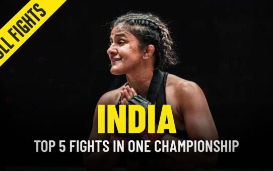 Top 5 Indian AthleteFights In ONE Championship