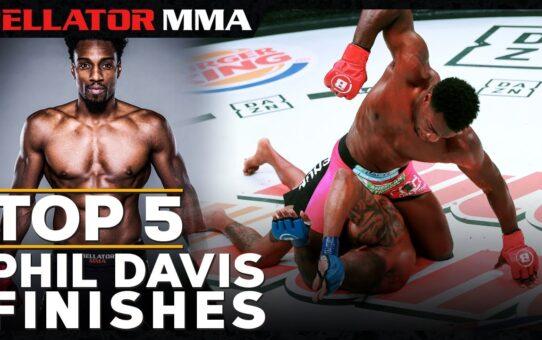 Top 5 Phil Davis Finishes | Bellator MMA