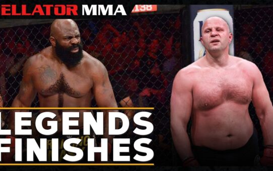 Top Legends Finishes | Bellator MMA