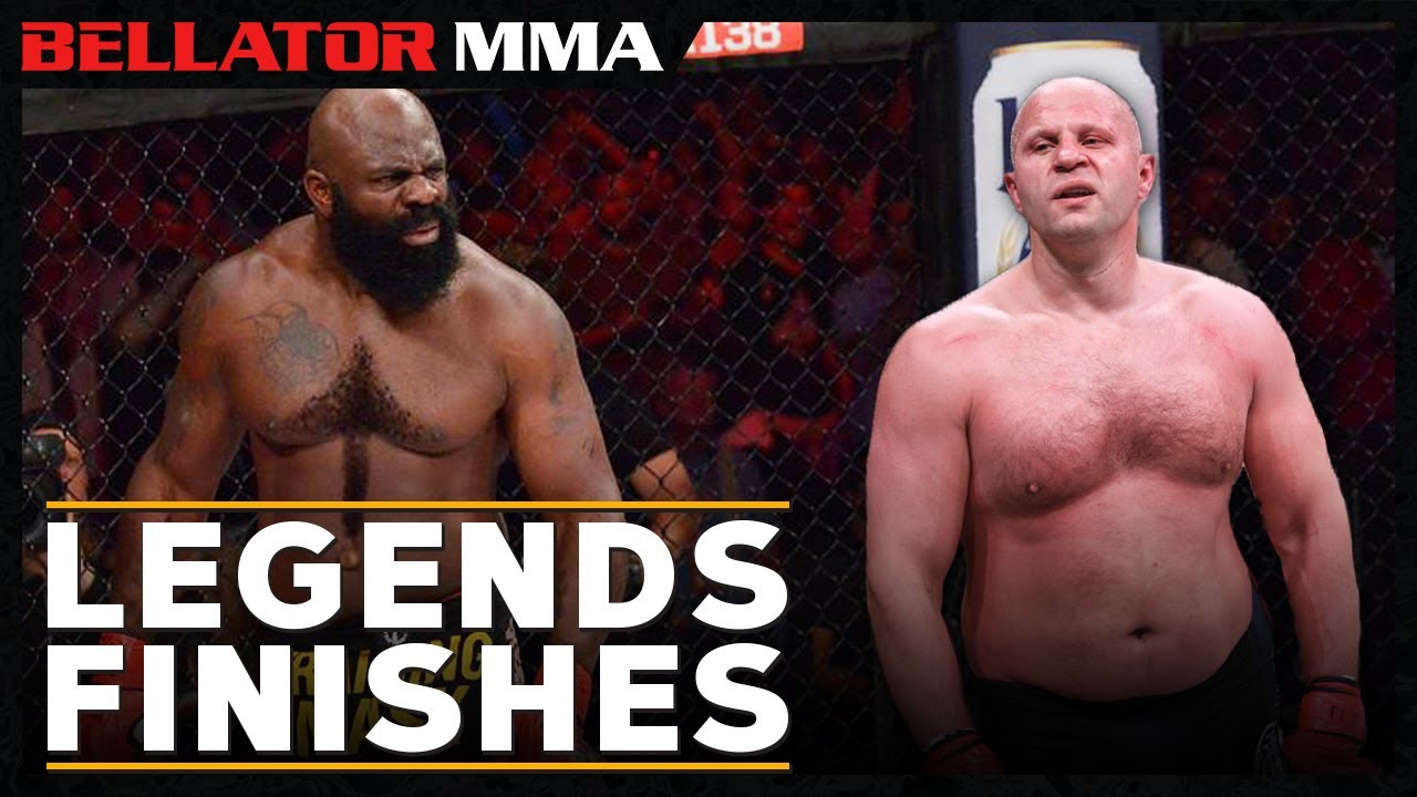 Top Legends Finishes   Bellator MMA
