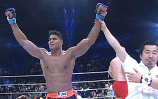 Top PRIDE FC Finishes: Alistair Overeem