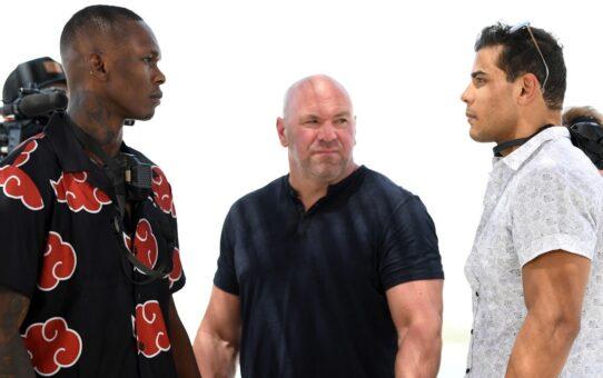 UFC 253: Beach Faceoffs