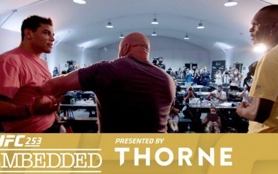 UFC 253 Embedded: Vlog Series – Episode 5