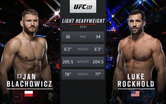 UFC 253 Free Fight: Jan Blachowicz vs Luke Rockhold
