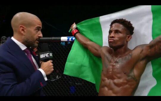UFC 253: Hakeem Dawodu Octagon Interview