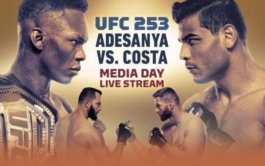 UFC 253 Media Day Live Stream – MMA Fighting