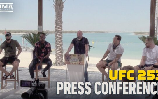 UFC 253 Pre-Fight Press Conference – MMA Fighting