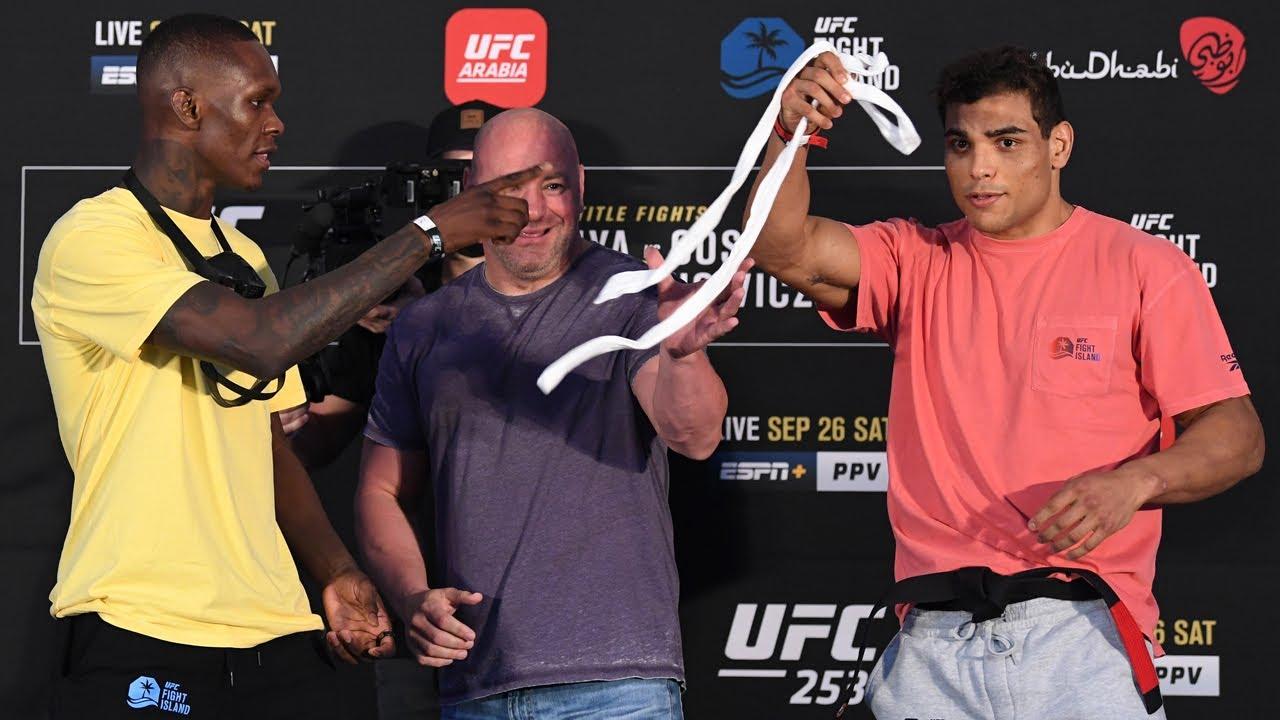 UFC 253: Weigh-in Faceoffs