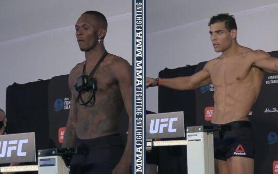 UFC 253 Weigh-Ins: Israel Adesanya, Paulo Costa Make Weight – MMA Fighting