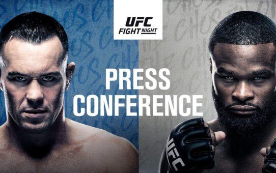 UFC Fight Night: Covington vs Woodley Press Conference