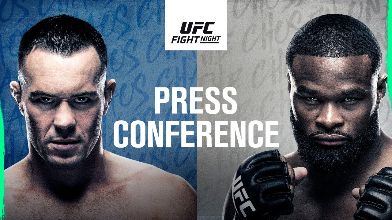 UFC Fight Night: Covington vs Woodley Press Conference