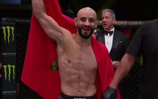 UFC Vegas 10: Ottman Azaitar Interview after 1:33 KO Win