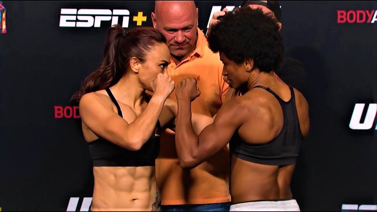 UFC Vegas 10: Weigh-in Faceoffs