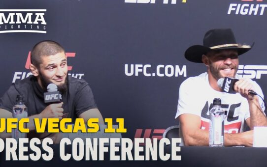 UFC Vegas 11 Press Conference – MMA Fighting