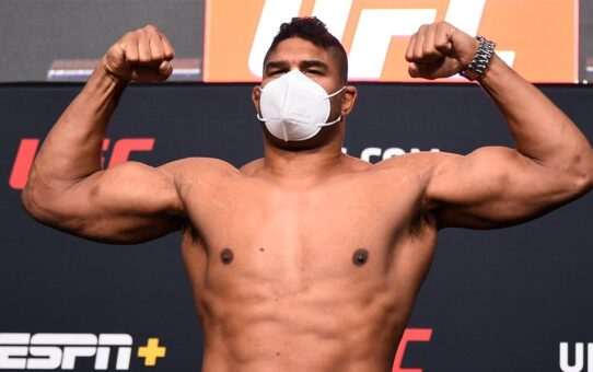 UFC Vegas 9: Overeem vs Sakai – Weigh-in