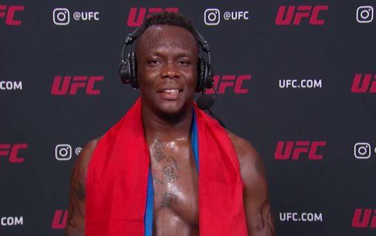 UFC Vegas 9: Ovince Saint Preux Interview after KO win