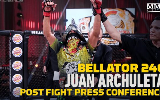 Bellator 246: Juan Archuleta Says Patchy Mix Was 'Young, Dumb,' Slowed After Round 2 – MMA Fighting