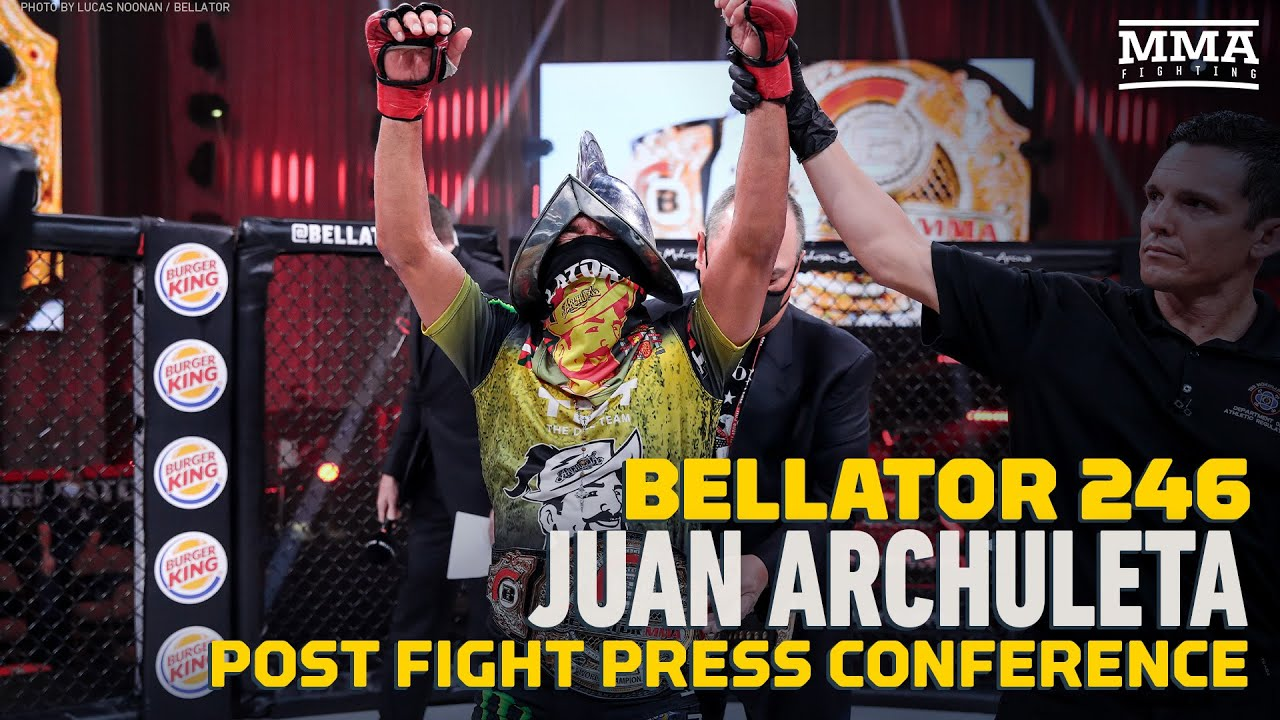 Bellator 246: Juan Archuleta Says Patchy Mix Was 'Young, Dumb,' Slowed After Round 2 - MMA Fighting