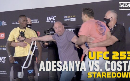 UFC 253: Paulo Costa Gift Infuriates Israel Adesanya After Weigh-Ins – MMA Fighting