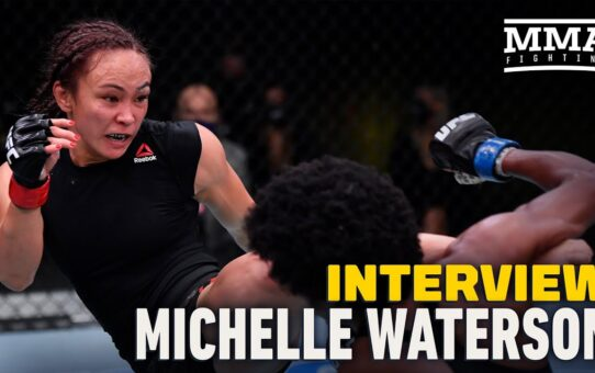 Michelle Waterson Talks Importance Of Sports Psychologist After UFC Vegas 10 Win – MMA Fighting