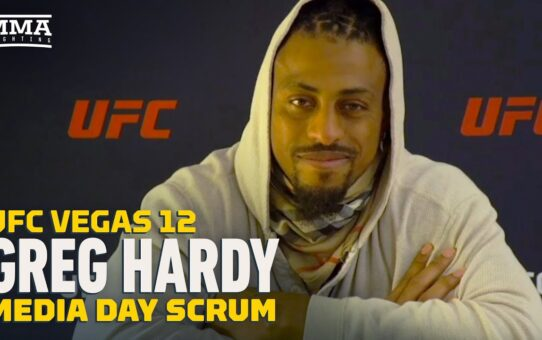 UFC Vegas 12: Greg Hardy: Ex-UFC Champ Rashad Evans Told Him He Has 'It' – MMA Fighting