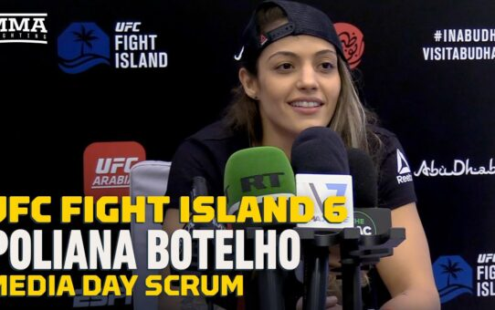 UFC Fight Island 6: Poliana Botelho Not Concerned With Gillian Robertson's 'Sharp' Jiu-Jitsu Skills