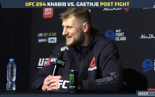 UFC 254: Alexander Volkov Says Walt Harris' Striking Was 'Light' And 'Easy' – MMA Fighting