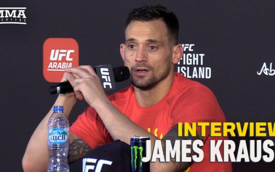 James Krause Details Joaquin Buckley Beef: 'Never Heard A Good Word Said About Him' – MMA Fighting