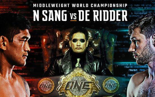 Aung La N Sang vs. Reinier De Ridder   RoadTo ONE: INSIDE THE MATRIX