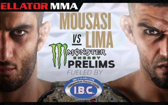 Bellator 250 Mousasi vs. Lima  I Monster Energy Prelims fueled by I.B.C