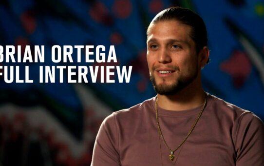Brian Ortega Full Interview