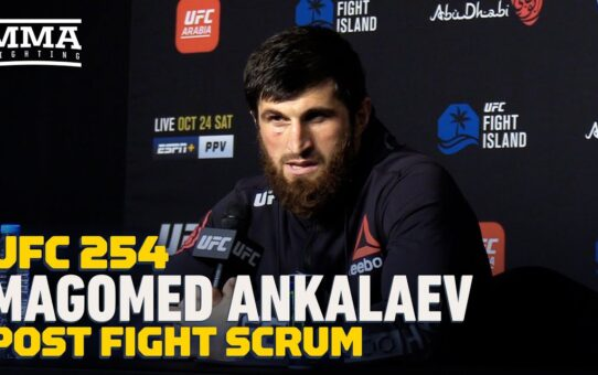 UFC 254: Magomed Ankalaev Calls Out Shogun Rua, Anthony Smith – MMA Fighting