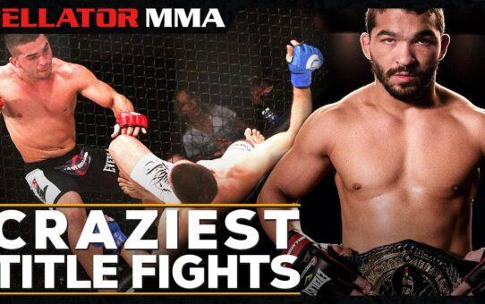 Craziest Title Fights | Bellator MMA