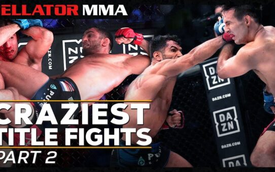 Craziest Title Fights – Part 2 | Bellator MMA