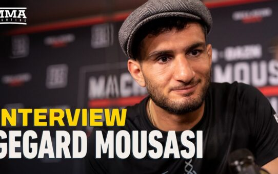 Gegard Mousasi Has 'Tremendous Respect' For Douglas Lima, But 'I'm Supposed To Win' at Bellator 250
