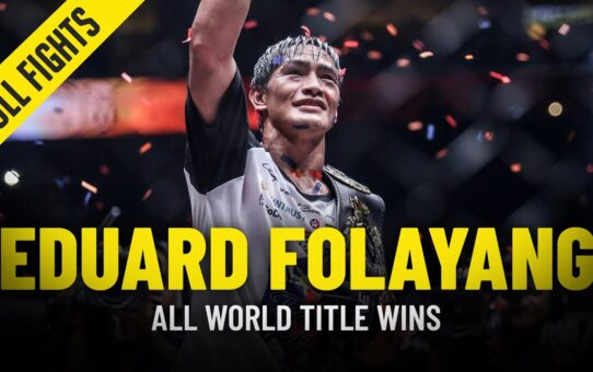 Every Eduard Folayang World Title Win In ONE Championship
