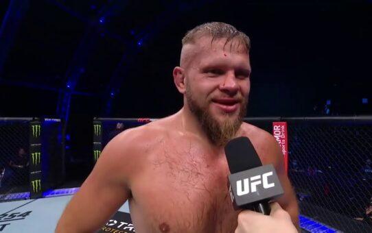 Fight Island 5: Marcin Tybura Octagon Interview