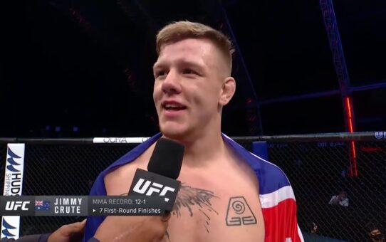 Fight Island 6: Jimmy Crute Octagon Interview
