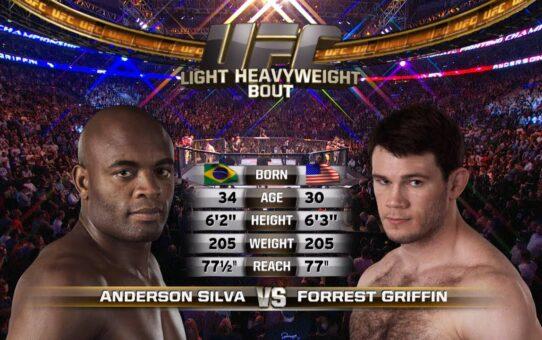 Free Fight: Anderson Silva vs Forrest Griffin