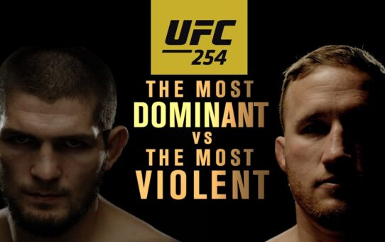 UFC 254: Khabib vs Gaethje – The Most Dominant vs The Most Violent | Official Trailer 3