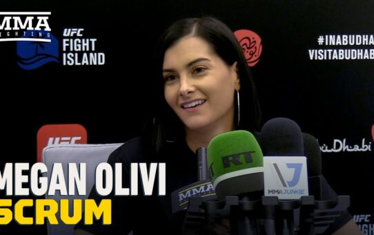 Megan Olivi Explains Why She Hasn't Watched UFC Fight Island: Declassified  – MMA Fighting