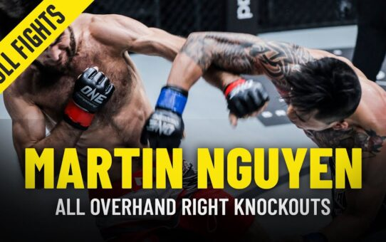 Martin Nguyen's 1-Punch KNOCKOUTS   ONE Championship Highlights