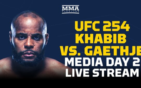 UFC 254 Media Day w/ Daniel Cormier, Javier Mendez, & More Live Stream – MMA Fighting