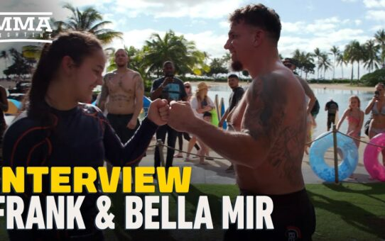 Bella, Frank Mir Preview Teenager's MMA Debut At iKON FF 2, Move To BKFC – MMA Fighting
