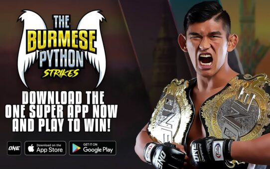 ONE Championship Launches Aung La N Sang Mobile Action Game!