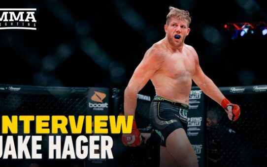 Jake Hager Talks Bellator 250 Matchup With Brandon Calton, AEW, Chris Jericho's GOAT Status, More