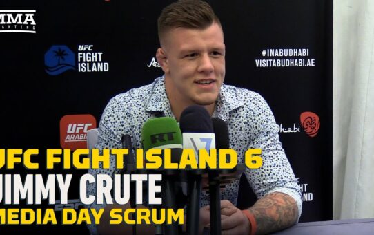 UFC Fight Island 6: Jimmy Crute Still Sleeps In Van Outside Gym: 'I Just Hate Paying Bills And Rent'